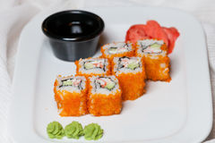 California rolls Stock Photo