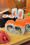 California rolls , maki sushi Royalty Free Stock Images