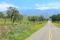 California rural Foto de archivo libre de regalías