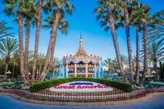 California`s Great America. Santa Clara, CA Stock Image