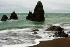 California's Rodeo Beach Royalty Free Stock Photos