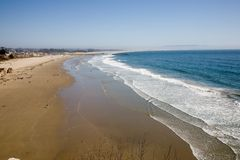 California sand beach Royalty Free Stock Photo