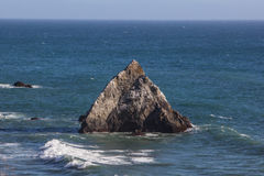 California Sea Stack 1 Royalty Free Stock Images