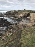 California shoreline. CA shoreline view royalty free stock photos
