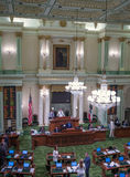 California State Assembly Room Royalty Free Stock Images