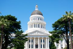 California State Capital Stock Image
