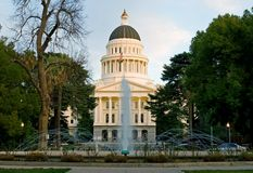 California State Capitol Royalty Free Stock Images