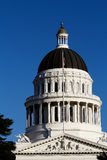 California State Capitol Building Dome Against Blue Sky Royalty Free Stock Photos
