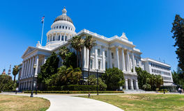California State Capitol. Exterior view of the California State Capitol, Sacramento, California Royalty Free Stock Photo