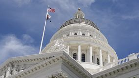 California State Capitol stock video