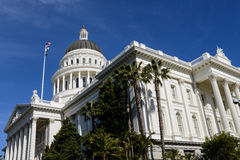 California State Capitol in Sacramento Stock Image