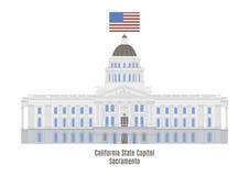 California State Capitol, Sacramento Royalty Free Stock Image