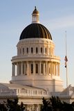 California State Capitol at sunset Royalty Free Stock Photos
