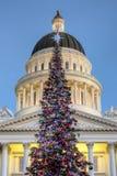 California State Christmas Tree Stock Photo