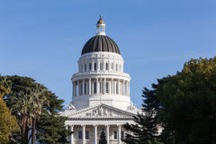 California State House and Capitol Building, Sacramento. California State House and Capitol Building in Sacramento, California, USA Stock Photos