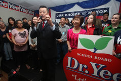 California State Sen. Leland Yee File Photo Stock Photos