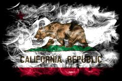 California state smoke flag, United States Of America.  Stock Images