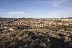 California Suburban Community Stock Image