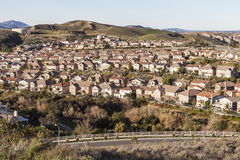 California Suburban Morning Royalty Free Stock Photo