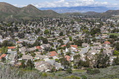 California Suburban Valley Royalty Free Stock Image