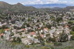 California Suburban Valley Royalty Free Stock Image