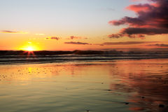 California Sunset Royalty Free Stock Image