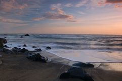 California Sunset Stock Image