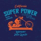 California Super Power Poster Royalty Free Stock Photo