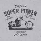 California Super Power Poster Royalty Free Stock Photography