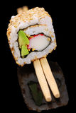 California sushi roll Royalty Free Stock Images