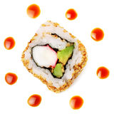 California sushi roll Royalty Free Stock Photo