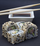 California sushi roll Royalty Free Stock Image