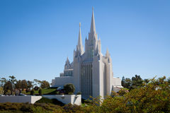 California Temple in San Diego Royalty Free Stock Photography