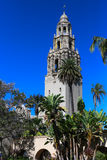 California Tower in Balboa Park in San Diego, California Royalty Free Stock Photo