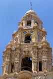 California Tower Close Up. San Diego's California Tower in Balboa Park royalty free stock photo