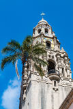 California Tower at Museum of Man in Balboa Park. SAN DIEGO, CALIFORNIA - APRIL 28, 2017:  The California Tower at the Museum of Man, an historic Balboa Park Stock Photography