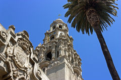 California Tower in San Diego. Royalty Free Stock Photos