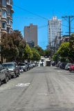 california ulica Francisco San obraz royalty free