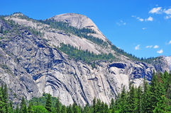 California, United States of America, Usa. Panoramic view of Yosemite Park on June 16, 2010. Yosemite National Park is internationally recognized for its Stock Photo