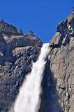 California, United States of America, Usa, Yosemite Park, nature reserve, green, landscape, mountain, waterfall, fall. Yosemite Falls in Yosemite National Park Stock Photo