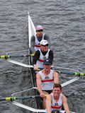 California University races in the Head of Charles Regatta Stock Image