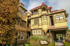 California, USA-December 12,2018:Winchester house is ghost house most famous in California.