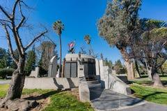 The California Vietnam Veterans Memorial. At Sacramento, California Royalty Free Stock Photos