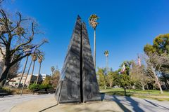 The California Vietnam Veterans Memorial. At Sacramento, California Royalty Free Stock Photography
