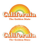 California vintage Royalty Free Stock Photo