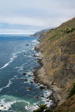 California wild coastline Royalty Free Stock Photography