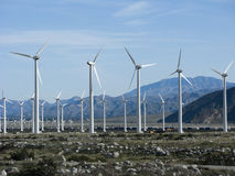 California Wind Energy Royalty Free Stock Photo