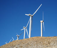 California Wind Power Royalty Free Stock Photos