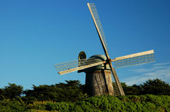 California Windmill. Golden Gate Park, San Francisco royalty free stock photos