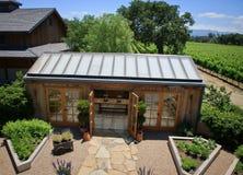 california winnicy wytwórnia win Zdjęcie Royalty Free